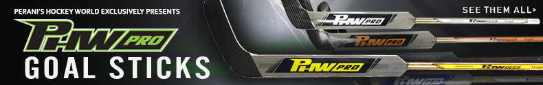 Perani's Hockey World Exclusively Presents, PHW Pro Goal Sticks! See Them All.