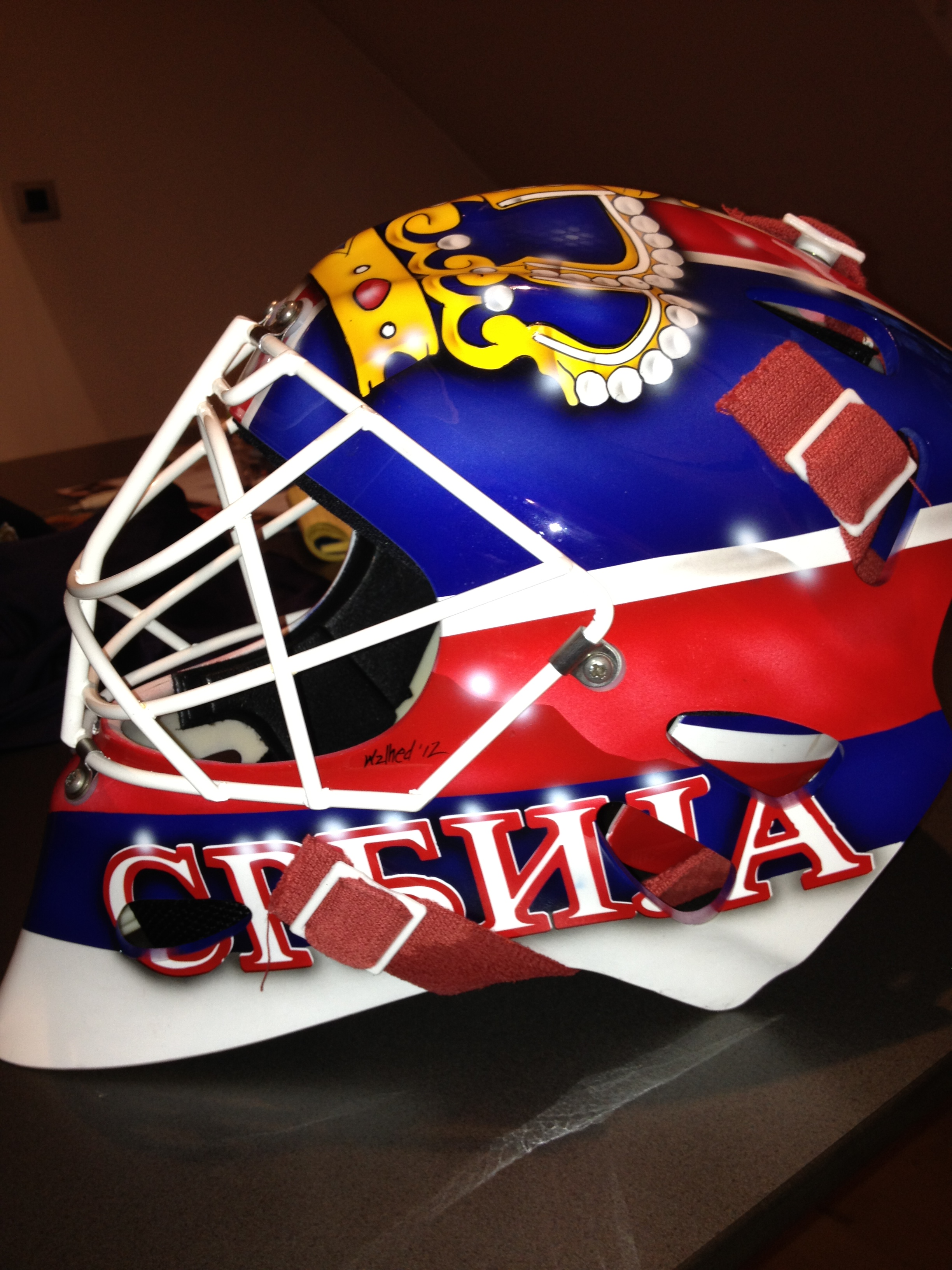 Goalie Mask Paint Jobs