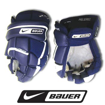 Bauer Nike Vapor XXX Ice Hockey Gloves Pro Large Black