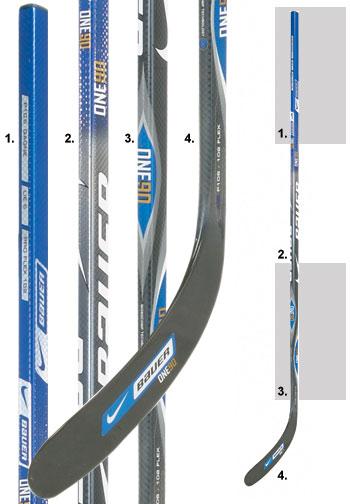 Nike Bauer Supreme One90 Composite Hockey Stick Senior
