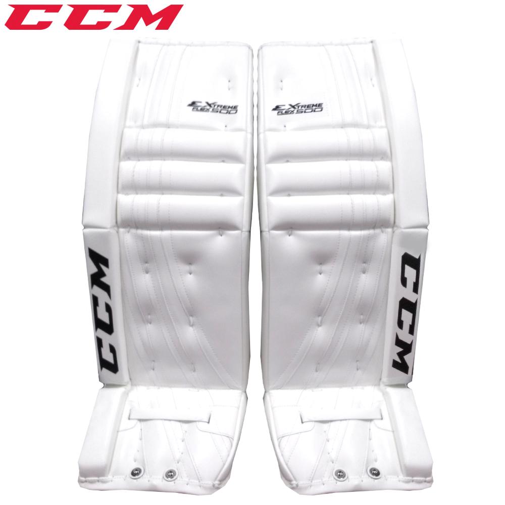 173e4e925dc CCM Extreme Flex 500 Goalie Leg Pads- Int