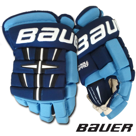 Bauer 4 Roll Pro Hockey Gloves Jr 11