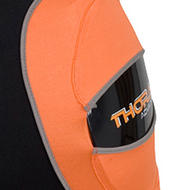 The Thorax Advantage Girdle features removable plastic hip, kidney and tailbone protection for better customization.