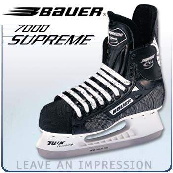 Bauer Supreme 7000 Hockey Skates ('02 model)- Senior