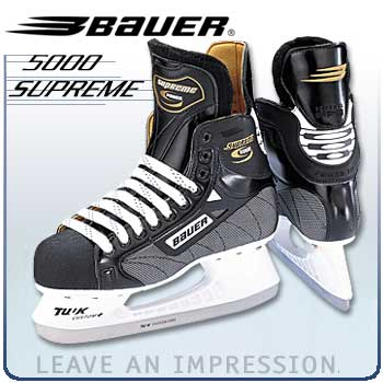 Bauer Supreme 5000 Hockey Skates - MFRS  CLOSEOUT- Senior