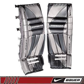 Image result for bauer supreme goalie pads 2002