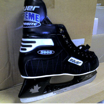 Bauer Comp Supreme Pro Ice Skates- Senior