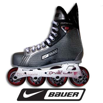 Nike bauer supreme edge roller hockey skates youth