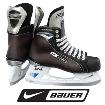 Nike Bauer Supreme One75 Hockey Skates- Junior