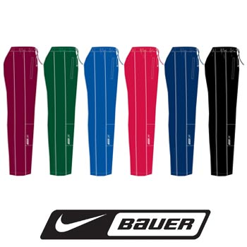 Apparel gt jackets amp pants gt nike bauer vapor warm up pants junior