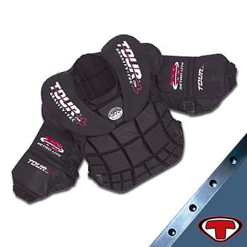 Tour GTL Chest & Arm Pads- Youth