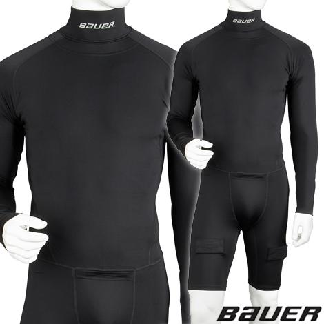 BAUER Core Integrated Neck Knee Length- Sr