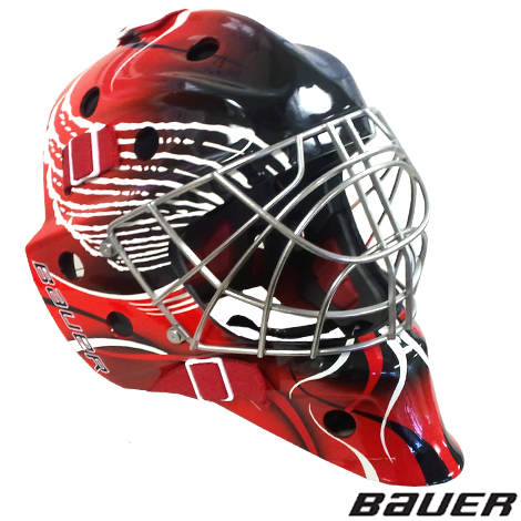 Bauer Nme 7 Painted Certified Cat Eye Goal Mask Sr