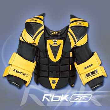 9fd3eed6882 RBK Premier Pro Chest   Arm Pads- Senior