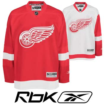 Detroit RedWings RBK Edge Authentic Hockey Jersey- Senior df0a266f0d2