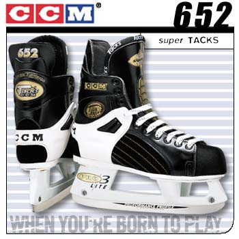 Ccm 652 Super Tacks Hockey Skates 99 00 Model Sr