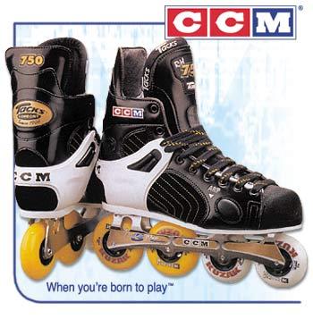 CCM RH750 Super Tacks™ Roller Hockey Skates- Senior
