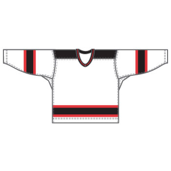 New Jersey 15000 Gamewear Jersey (Uncrested) - White