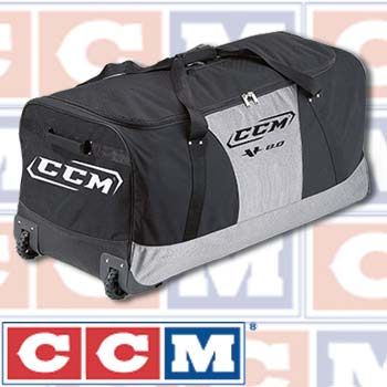 Ccm V8 0 Wheeled Hockey Bag Youth