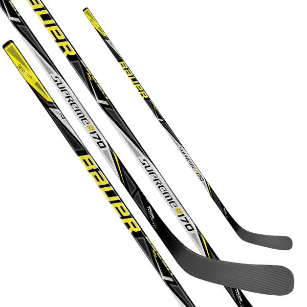 BAUER Supreme S170 Grip Hockey Stick- Int '17