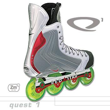 Nike Quest 1 Roller Hockey Skates ( 02 model)- Senior b628e6d21596