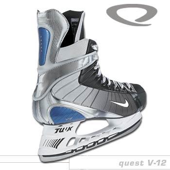 Nike Quest V-12 Hockey Skates- Junior 14d6c8a5f