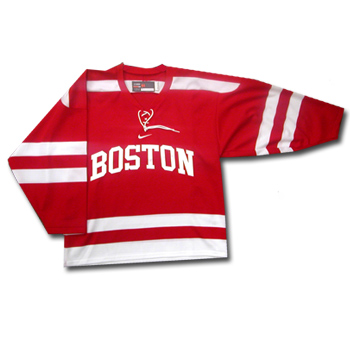 low priced b9c26 23fc1 Nike Replica Alternate Boston University Hockey Jersey- Senior