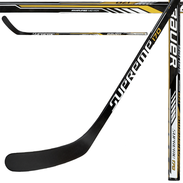 BAUER Supreme 170 Composite Ice Hockey Stick- Junior