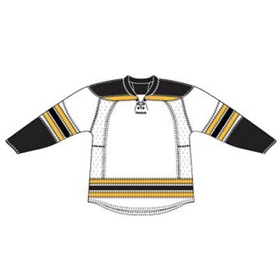 Boston 25P00 Edge Gamewear Jersey (Uncrested) - White- Senior