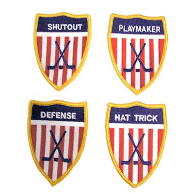 Hockey Award Patches