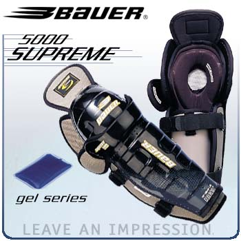 Bauer Supreme 5000 Gel Shin Guards ('03 Model)- Senior