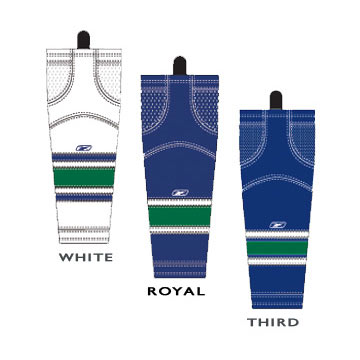 Reebok SX100 Vancouver Edge Gamewear Socks- Junior