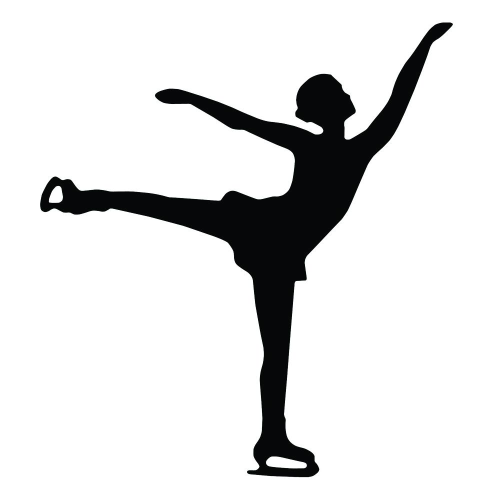 A&R Figure Skater Magnet