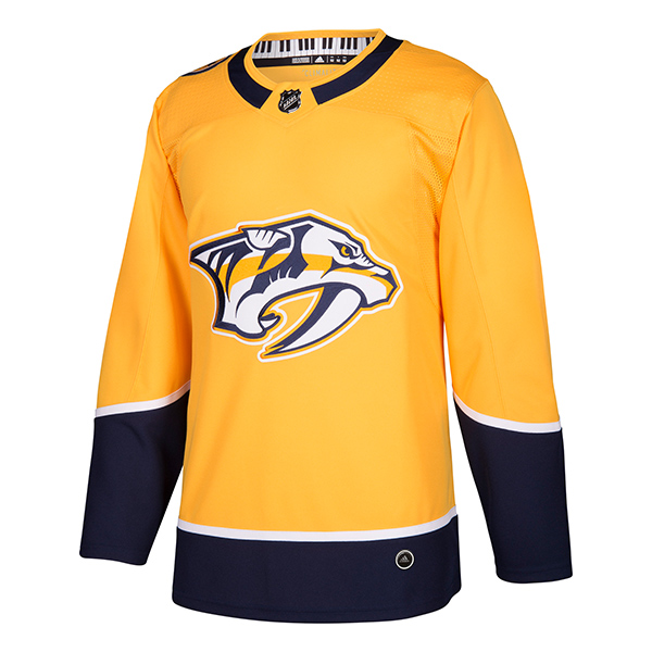 ADIDAS NHL Authentic Pro Nashville Jersey- Sr