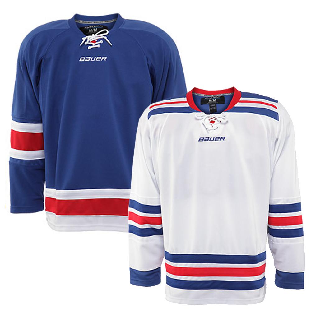 BAUER 800 Series New York Rangers Gamewear Jersey- Sr