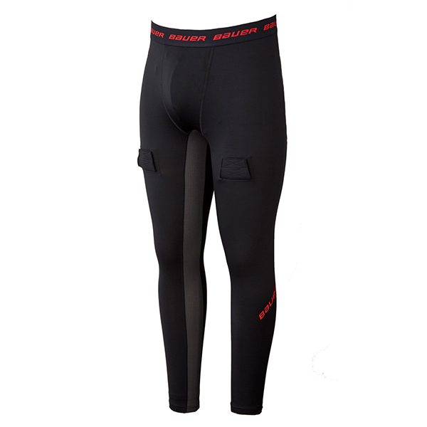 BAUER Essential Compression Jock Pant- Yth