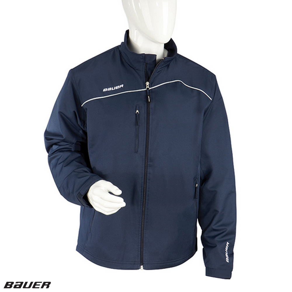 BAUER LightWeight Warm-Up Jacket- Yth