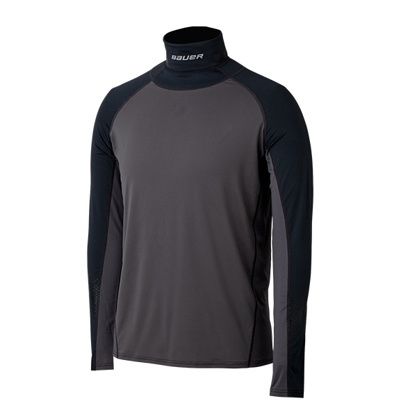 BAUER Neck Protect L/S Top- Yth