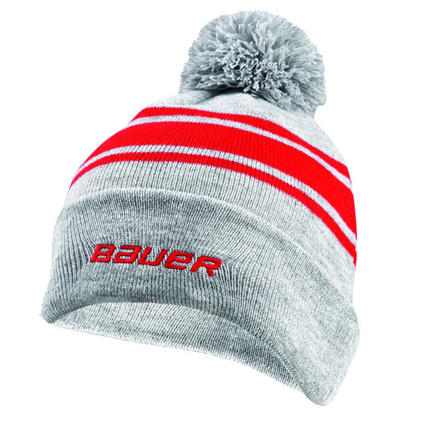 BAUER/New Era Team Striped Pom Pom