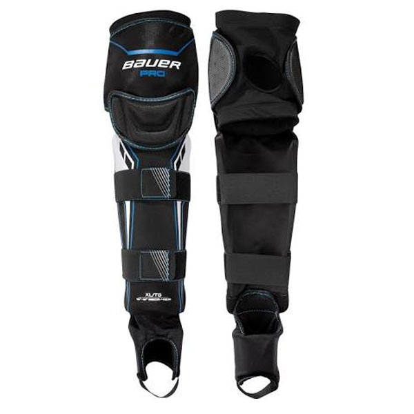 BAUER Pro Ball Street Hockey Shin Guard – Sr