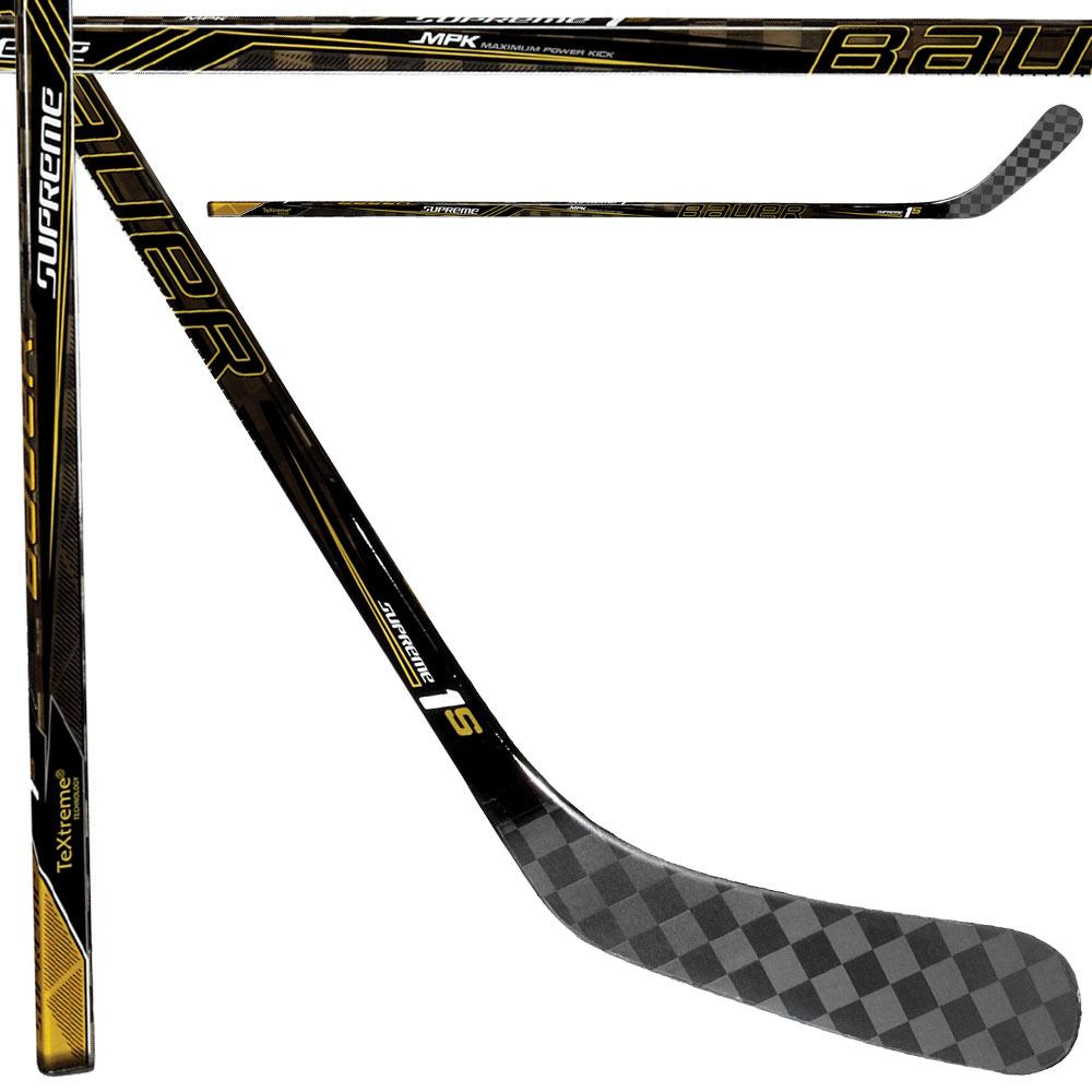 BAUER Supreme 1S Griptac Hockey Stick- Sr '16