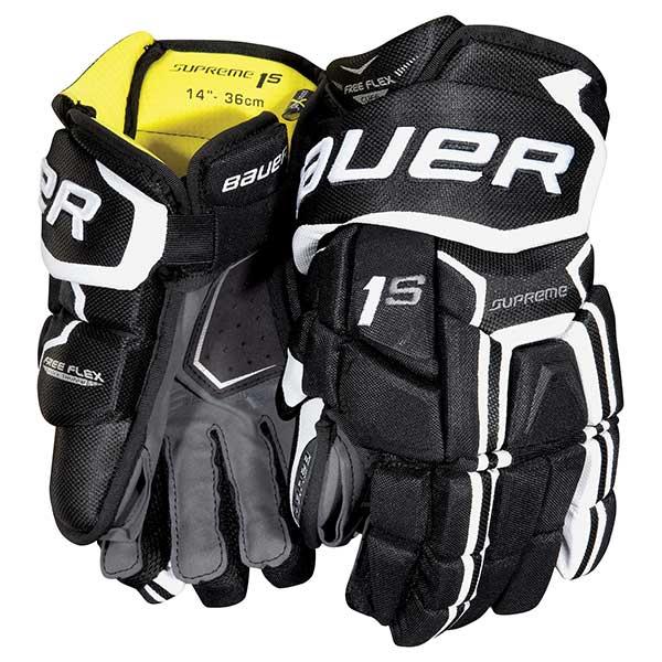 BAUER Supreme 1S Hockey Glove- Yth