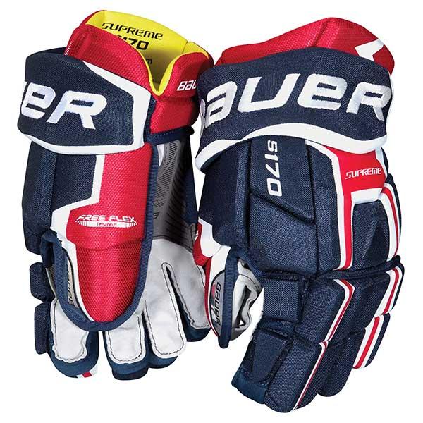 BAUER Supreme S170 Hockey Glove- Jr