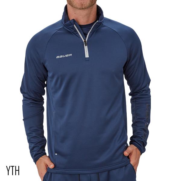 BAUER Vapor Fleece ¼ Zip Top- Sr