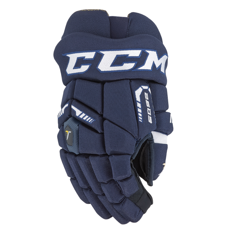 ababa4beb5f CCM 6052 Tacks Hockey Gloves- Jr
