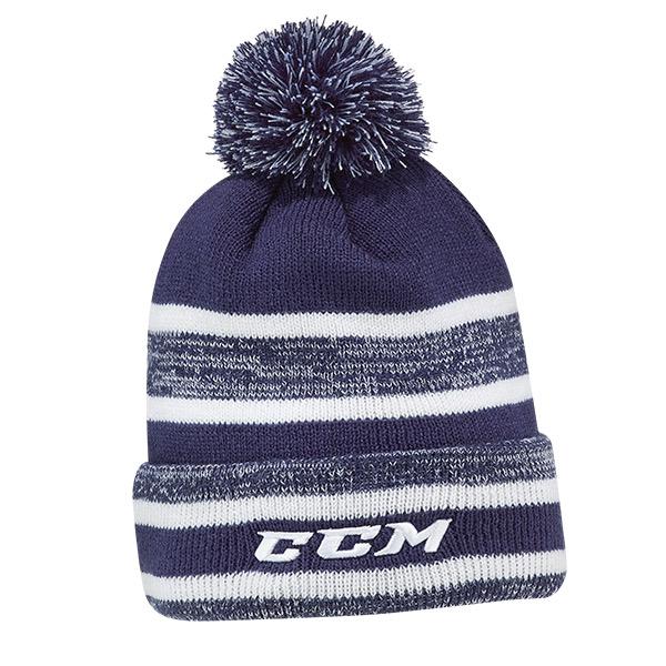 CCM Core Heathered Pom Knit Hat