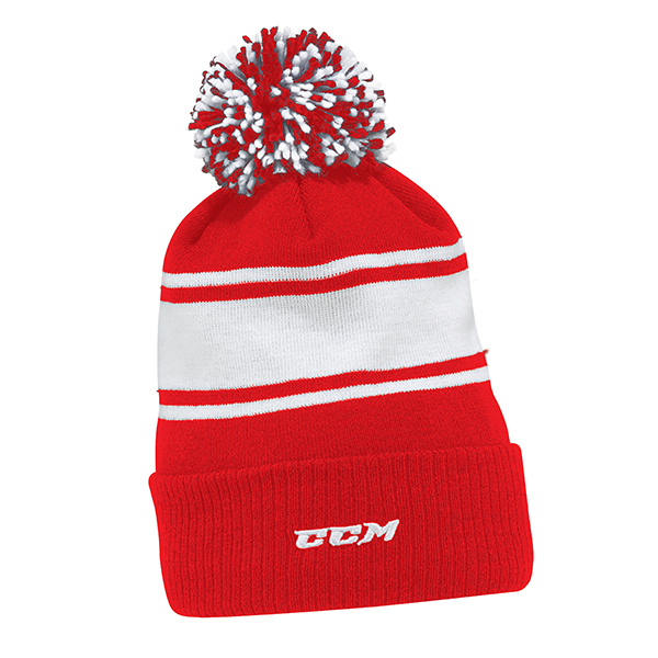 637e133f10d CCM Team Fleece Pom Knit Hat