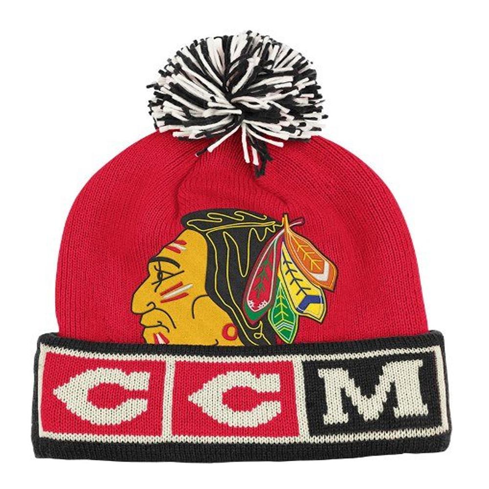 CCM Vintage NHL Pom Knit Hat 0e58734d2