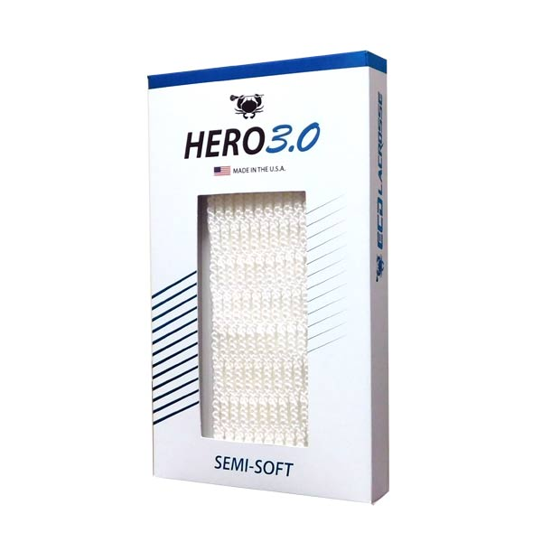 East Coast Hero 3.0 Semi-Soft Lacrosse Mesh