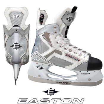 Easton Stealth S17 White Hockey Skates- Sr '10
